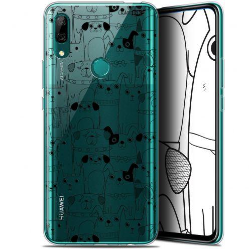 "Coque Gel Huawei P Smart Z (6.6"") Extra Fine Motif - Chien Noir"