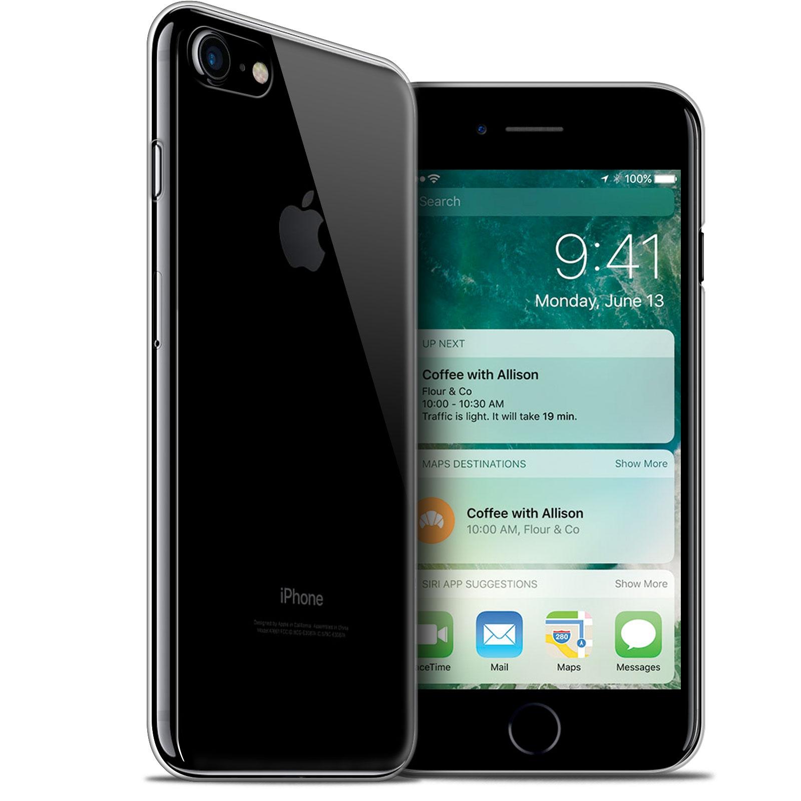 coque apple iphone 7 8 47 crystal extra fine transparente