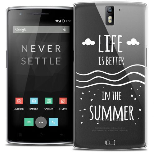 Coque Crystal Rigide OnePlus One Extra Fine Summer - Life's Better