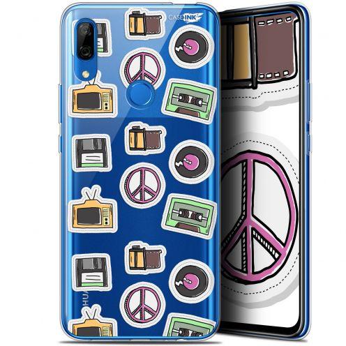 "Coque Gel Huawei P Smart Z (6.6"") Extra Fine Motif - Vintage Stickers"