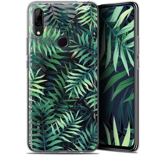 """Coque Gel Huawei P Smart Z (6.6"""") Extra Fine Motif - Feuilles des Tropiques"""