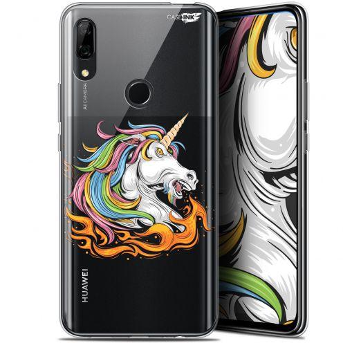 "Coque Gel Huawei P Smart Z (6.6"") Extra Fine Motif - Licorne de Feu"