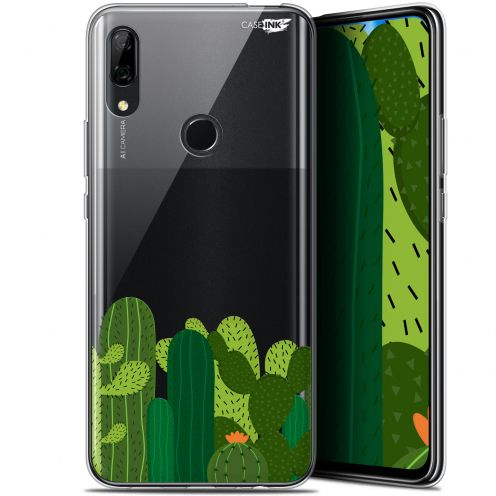"Coque Gel Huawei P Smart Z (6.6"") Extra Fine Motif - Cactus"