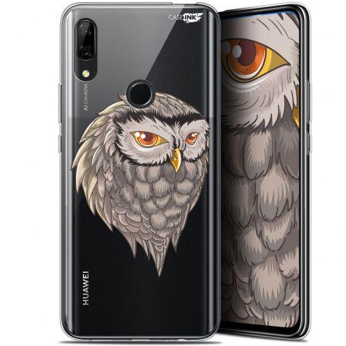 "Coque Gel Huawei P Smart Z (6.6"") Extra Fine Motif - Hibou Draw"
