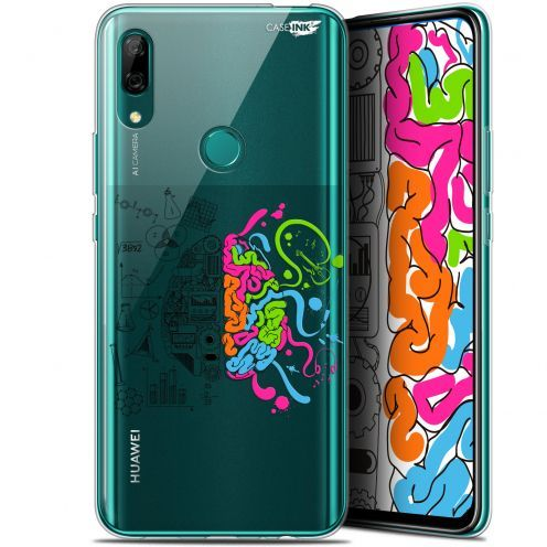 """Coque Gel Huawei P Smart Z (6.6"""") Extra Fine Motif - Le Cerveau"""