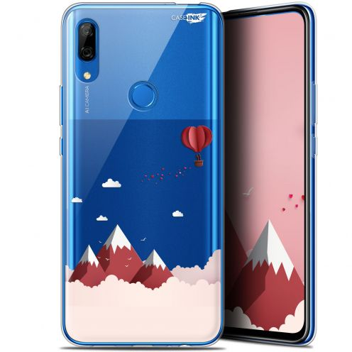 """Coque Gel Huawei P Smart Z (6.6"""") Extra Fine Motif - Montagne En Montgolfière"""