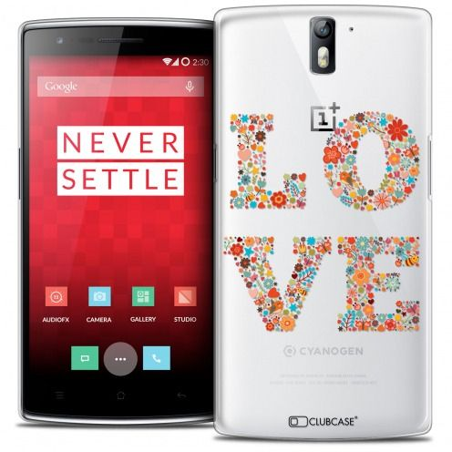 Coque Crystal Rigide OnePlus One Extra Fine Summer - Love Flowers