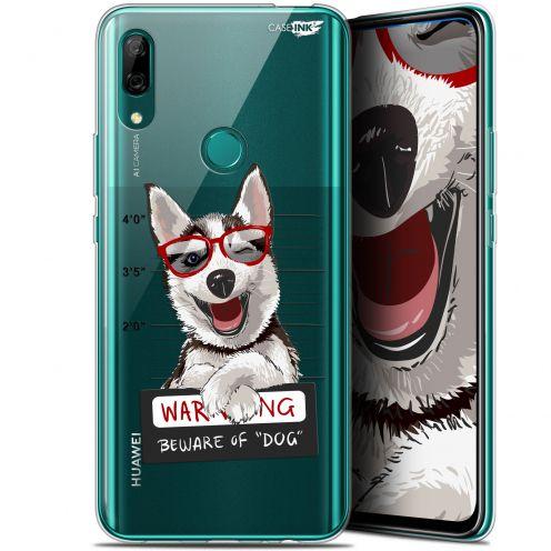 "Coque Gel Huawei P Smart Z (6.6"") Extra Fine Motif - Beware The Husky Dog"