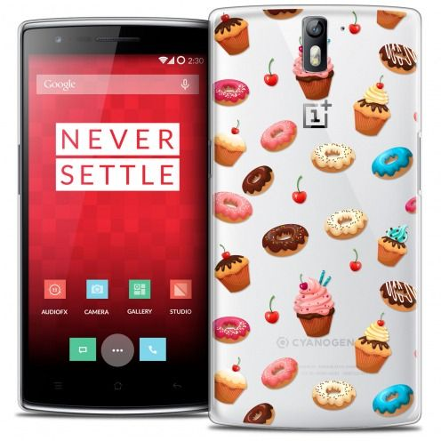 Coque Crystal Rigide OnePlus One Extra Fine Foodie - Donuts