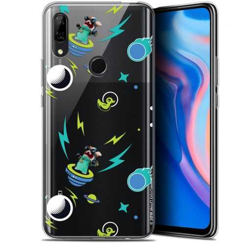 """Coque Gel Huawei P Smart Z (6.6"""") Extra Fine Lapins Crétins™ - Space 1"""