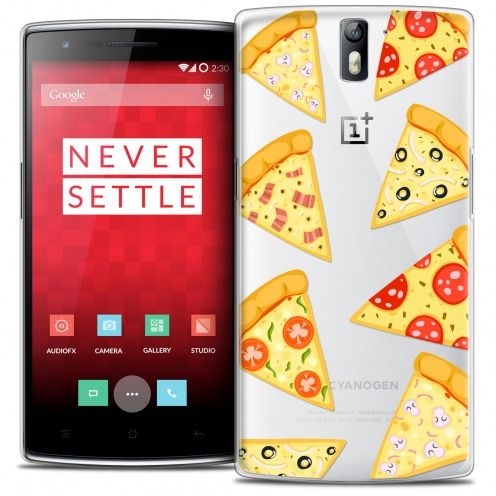 Coque Crystal Rigide OnePlus One Extra Fine Foodie - Pizza