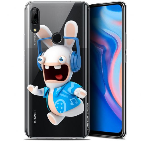 """Coque Gel Huawei P Smart Z (6.6"""") Extra Fine Lapins Crétins™ - Techno Lapin"""
