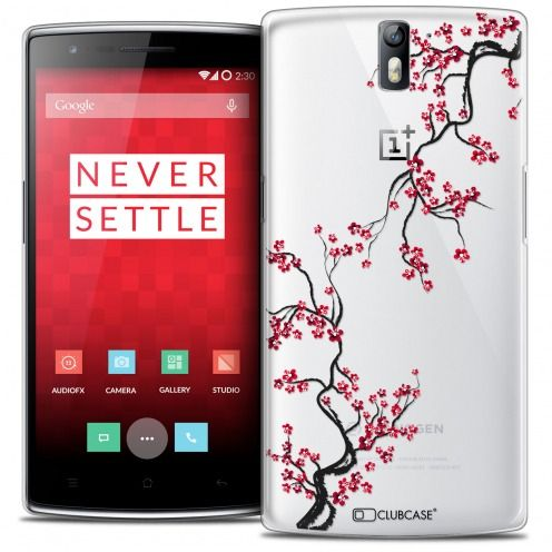 Coque Crystal Rigide OnePlus One Extra Fine Summer - Sakura
