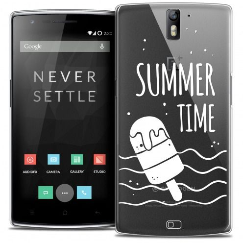 Coque Crystal Rigide OnePlus One Extra Fine Summer - Summer Time