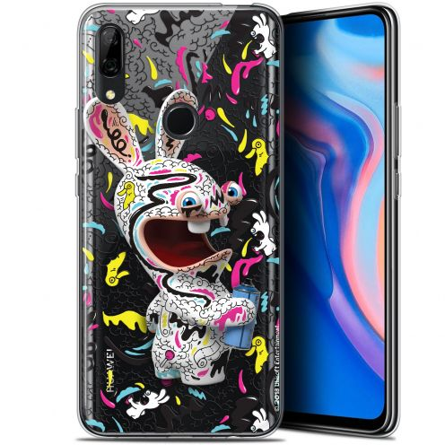 """Coque Gel Huawei P Smart Z (6.6"""") Extra Fine Lapins Crétins™ - Tag"""