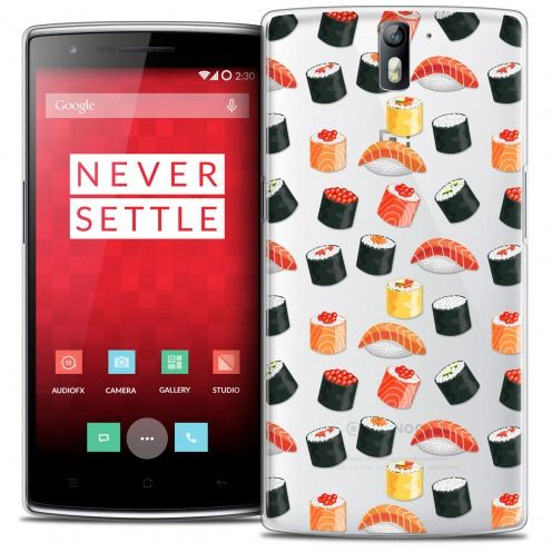 Coque Crystal Rigide OnePlus One Extra Fine Foodie - Sushi
