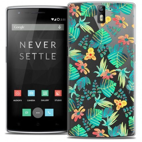 Coque Crystal Rigide OnePlus One Extra Fine Spring - Tropical