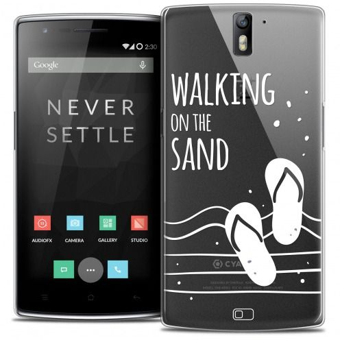 Coque Crystal Rigide OnePlus One Extra Fine Summer - Walking on the Sand