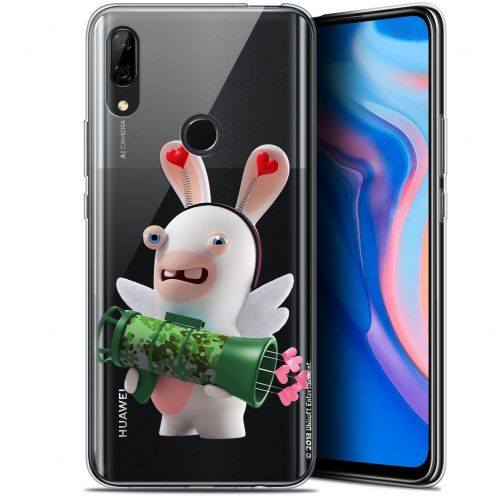 "Coque Gel Huawei P Smart Z (6.6"") Extra Fine Lapins Crétins™ - Cupidon Soldat"