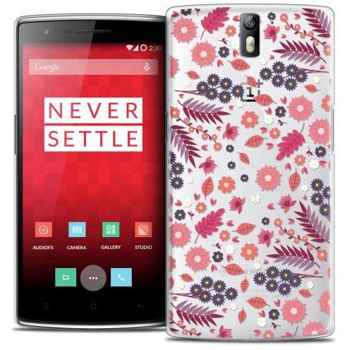 Coque Crystal Rigide OnePlus One Extra Fine Spring - Floraison
