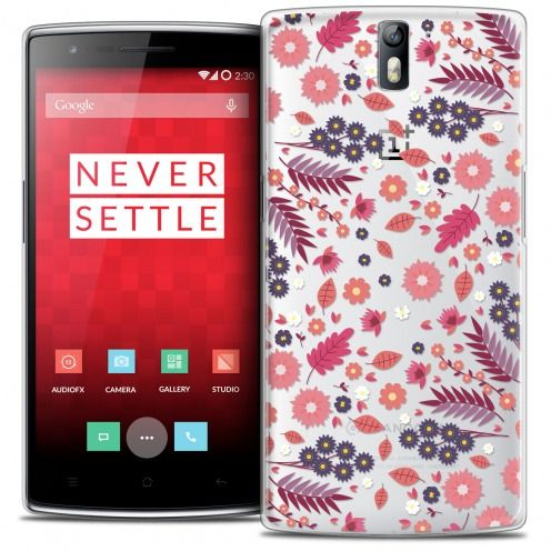 Coque Crystal Rigide OnePlus One Extra Fine Spring - Floraison