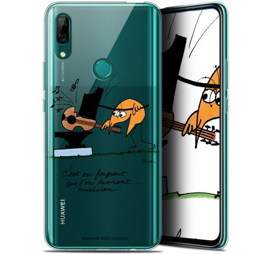 "Coque Gel Huawei P Smart Z (6.6"") Extra Fine Les Shadoks® - Musicien"