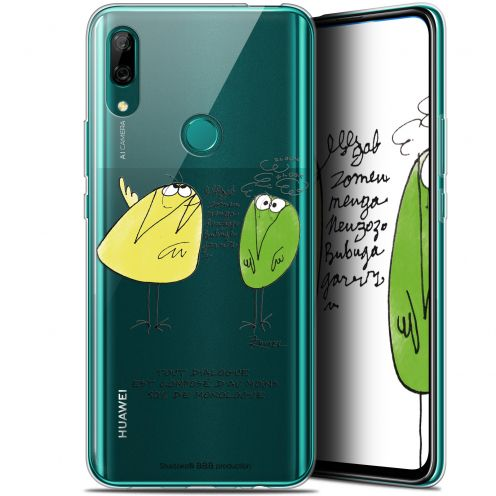 "Coque Gel Huawei P Smart Z (6.6"") Extra Fine Les Shadoks® - Le Dialogue"