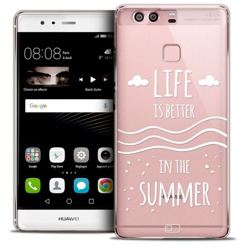 Coque Crystal Rigide Huawei P9 Extra Fine Summer - Life's Better