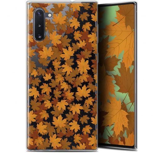 "Coque Gel Samsung Galaxy Note 10 (6.3"") Extra Fine Autumn 16 - Feuilles"