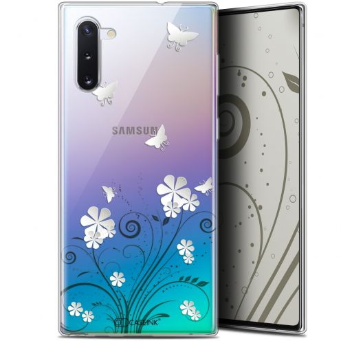 "Coque Gel Samsung Galaxy Note 10 (6.3"") Extra Fine Summer - Papillons"