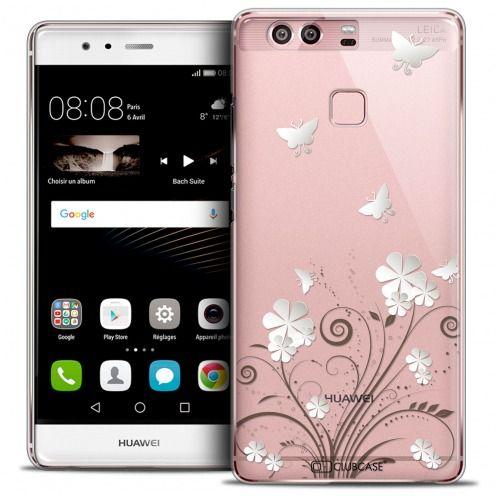Coque Crystal Rigide Huawei P9 Extra Fine Summer - Papillons