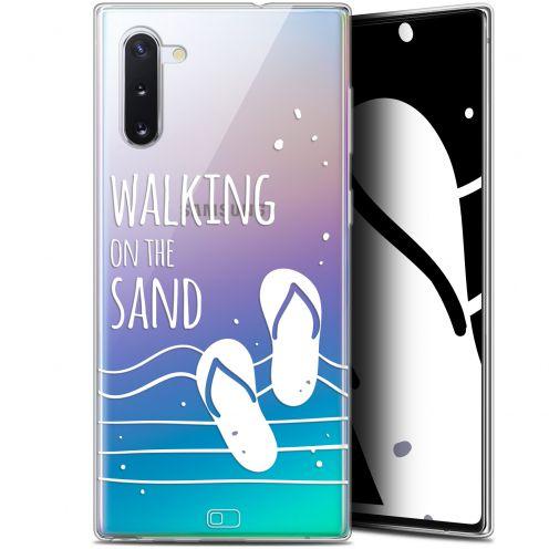 "Coque Gel Samsung Galaxy Note 10 (6.3"") Extra Fine Summer - Walking on the Sand"