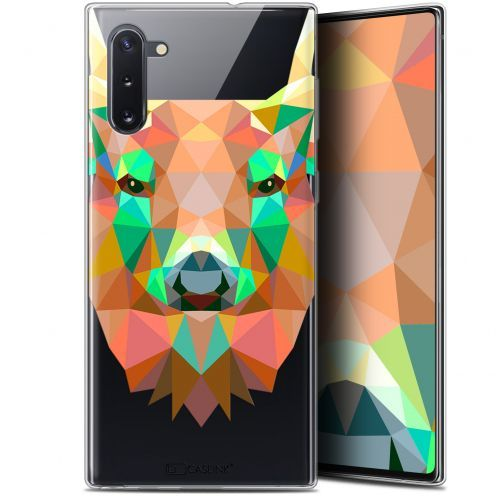 "Coque Gel Samsung Galaxy Note 10 (6.3"") Extra Fine Polygon Animals - Cerf"
