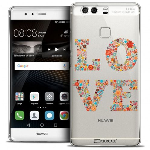 Coque Crystal Rigide Huawei P9 Extra Fine Summer - Love Flowers