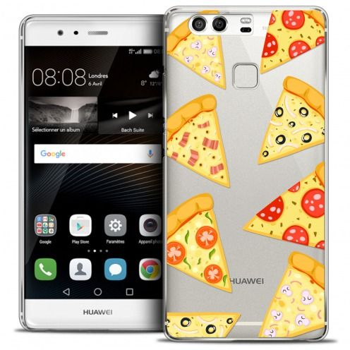 Coque Crystal Rigide Huawei P9 Extra Fine Foodie - Pizza