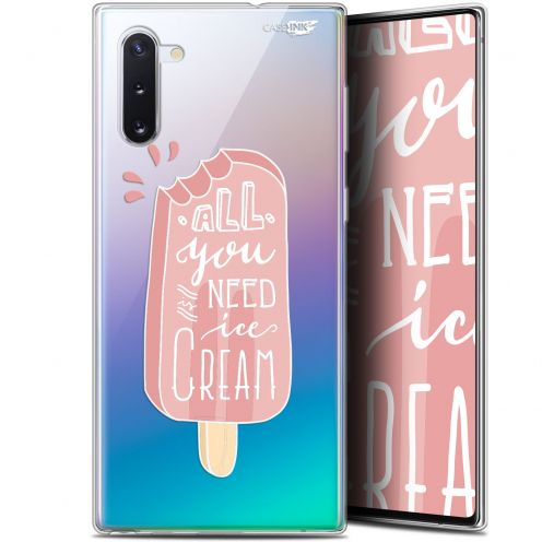 "Coque Gel Samsung Galaxy Note 10 (6.3"") Extra Fine Motif - Ice Cream"