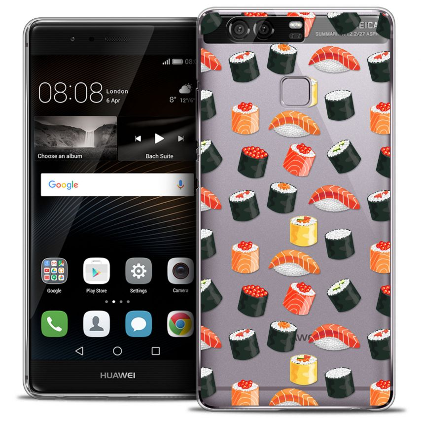 Coque Crystal Rigide Huawei P9 Extra Fine Foodie - Sushi
