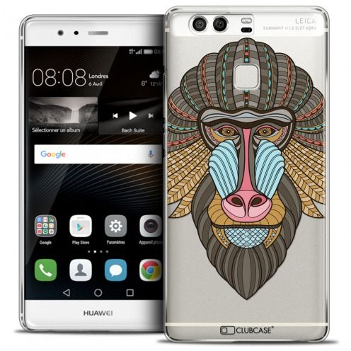 Coque Crystal Rigide Huawei P9 Extra Fine Summer - Babouin