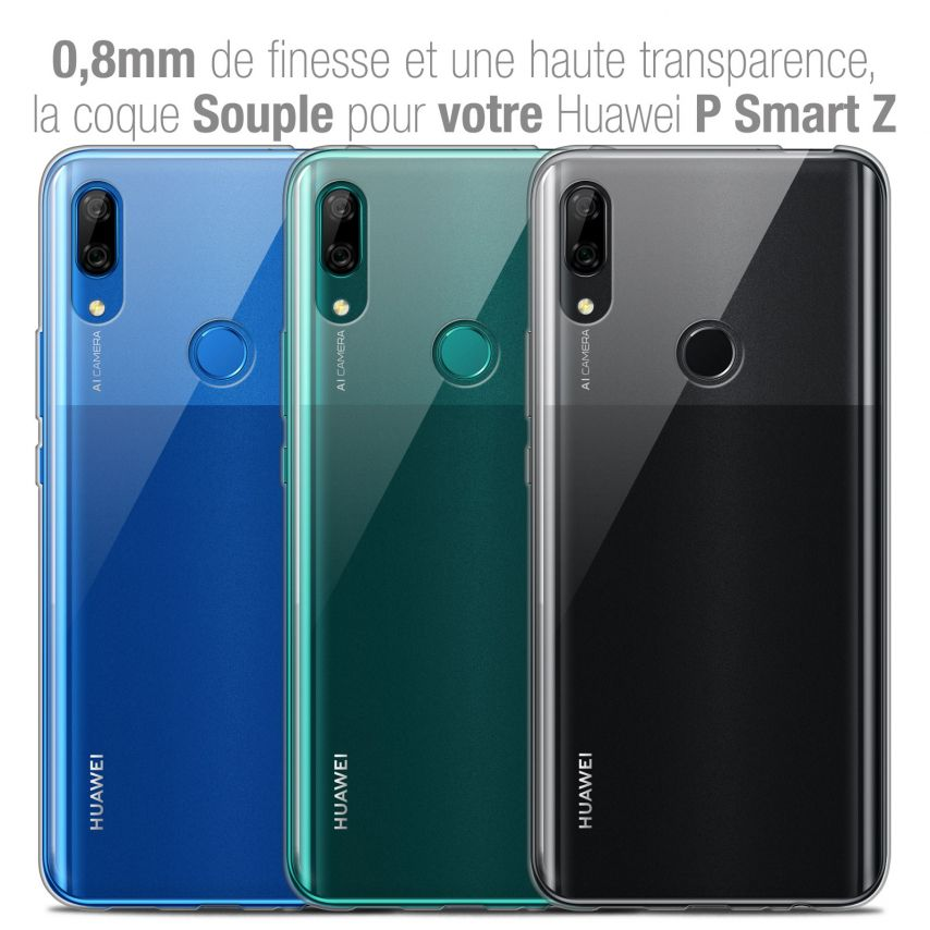 """Coque Huawei P Smart Z (6.6"""") Extra Fine Souple Crystal Clear"""