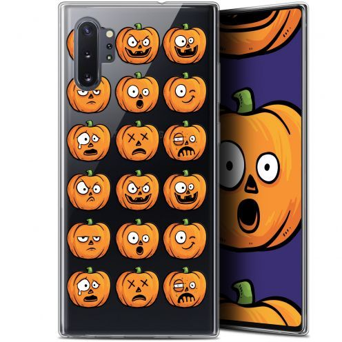 """Coque Gel Samsung Galaxy Note 10+ / Plus (6.8"""") Extra Fine Halloween - Cartoon Citrouille"""