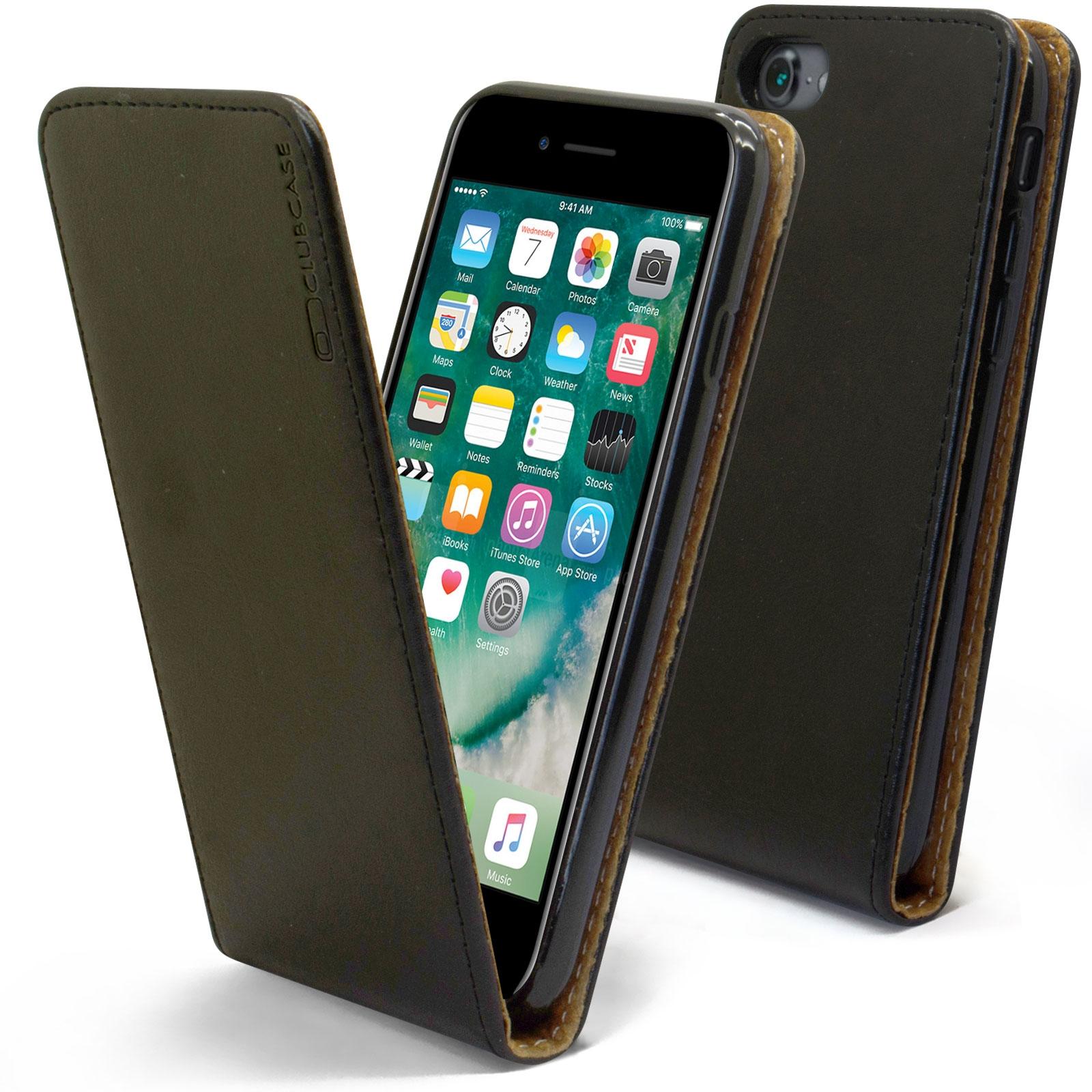 coque iphone 8 plus en cuir veritable rose