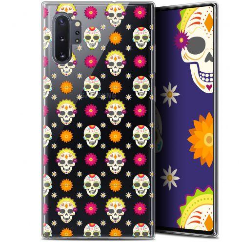 "Coque Gel Samsung Galaxy Note 10+ / Plus (6.8"") Extra Fine Halloween - Skull Halloween"