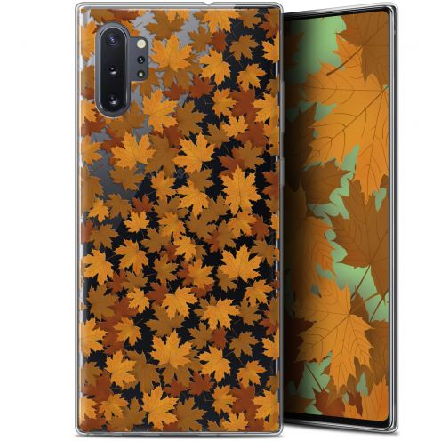 "Coque Gel Samsung Galaxy Note 10+ / Plus (6.8"") Extra Fine Autumn 16 - Feuilles"