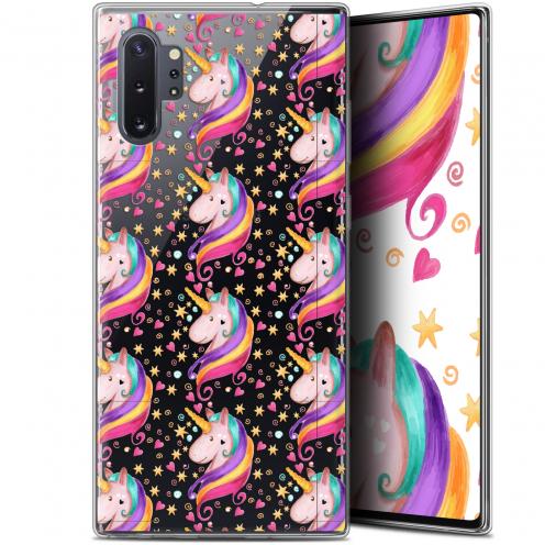 "Coque Gel Samsung Galaxy Note 10+ / Plus (6.8"") Extra Fine Fantasia - Licorne Etoilée"