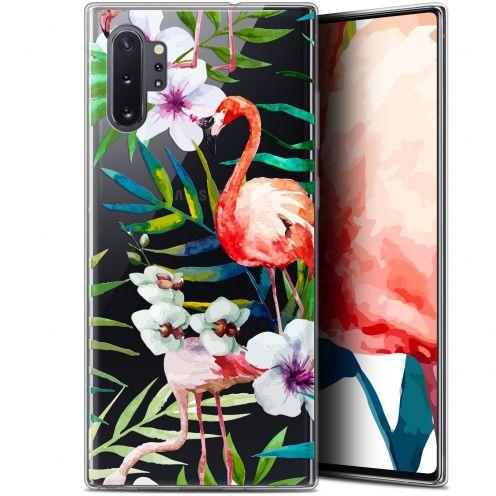 """Coque Gel Samsung Galaxy Note 10+ / Plus (6.8"""") Extra Fine Watercolor - Tropical Flamingo"""