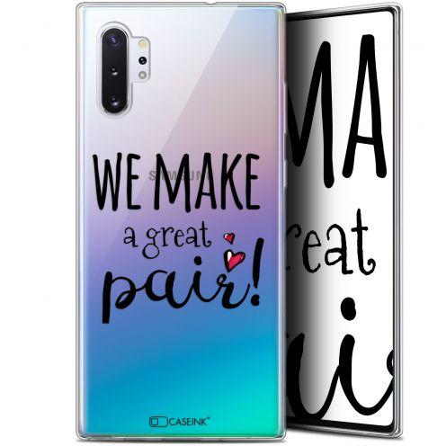 "Coque Gel Samsung Galaxy Note 10+ / Plus (6.8"") Extra Fine Love - We Make Great Pair"