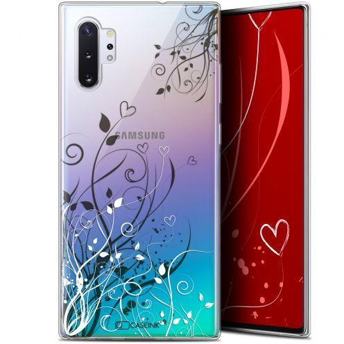 "Coque Gel Samsung Galaxy Note 10+ / Plus (6.8"") Extra Fine Love - Hearts Flowers"