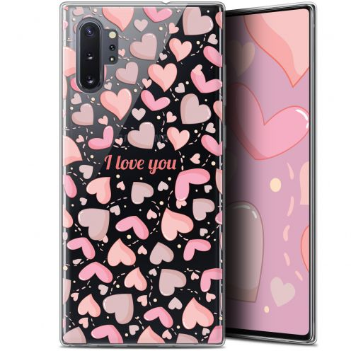 "Coque Gel Samsung Galaxy Note 10+ / Plus (6.8"") Extra Fine Love - I Love You"