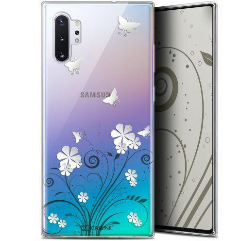 """Coque Gel Samsung Galaxy Note 10+ / Plus (6.8"""") Extra Fine Summer - Papillons"""