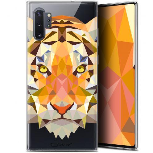 """Coque Gel Samsung Galaxy Note 10+ / Plus (6.8"""") Extra Fine Polygon Animals - Tigre"""